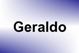 Geraldo name image