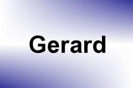 Gerard name image