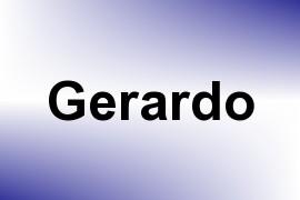 Gerardo name image