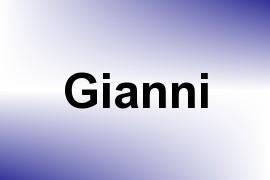 Gianni name image
