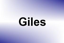 Giles name image