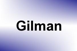 Gilman name image