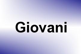 Giovani name image