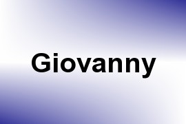Giovanny name image
