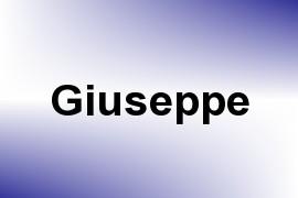Giuseppe name image