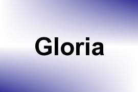 Gloria name image