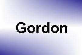 Gordon name image
