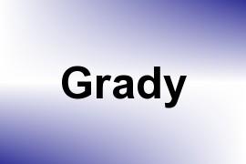 Grady name image