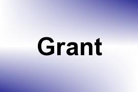 Grant name image