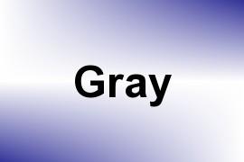 Gray name image
