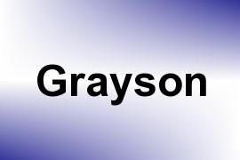 Grayson name image