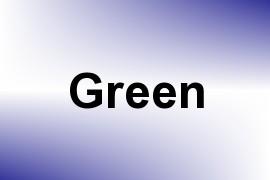 Green name image
