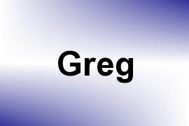 Greg name image