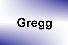 Gregg name image