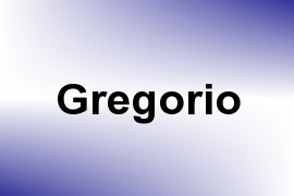 Gregorio name image