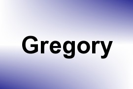 Gregory name image