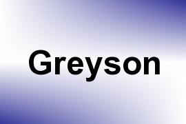 Greyson name image