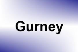 Gurney name image