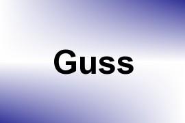 Guss name image