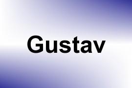 Gustav name image