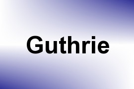 Guthrie name image