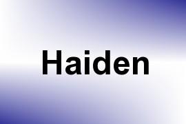 Haiden name image