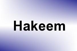 Hakeem name image