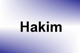 Hakim name image