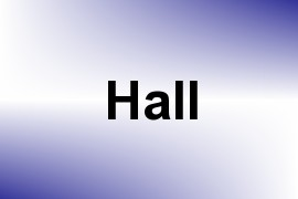 Hall name image