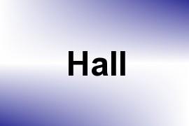 Hall name image