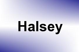 Halsey name image