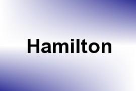 Hamilton name image