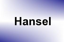 Hansel name image