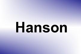 Hanson name image