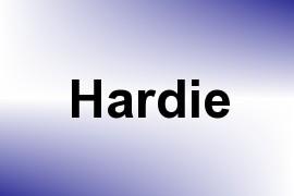 Hardie name image