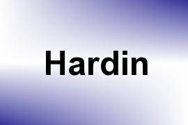 Hardin name image