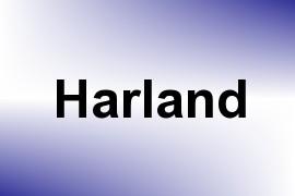 Harland name image