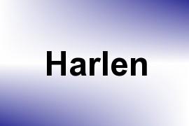 Harlen name image