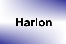Harlon name image