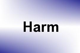 Harm name image