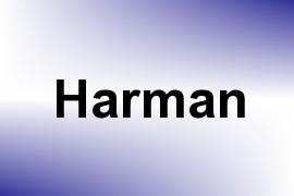 Harman name image