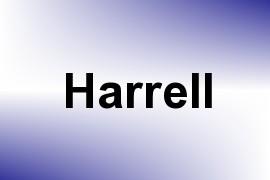 Harrell name image