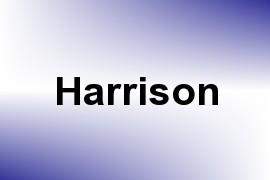Harrison name image