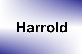 Harrold name image