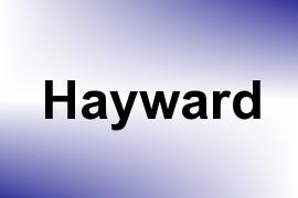 Hayward name image