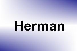 Herman name image