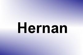 Hernan name image