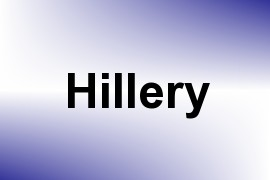 Hillery name image