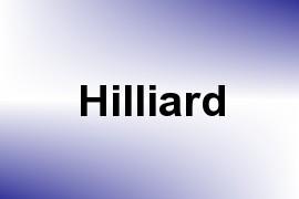 Hilliard name image