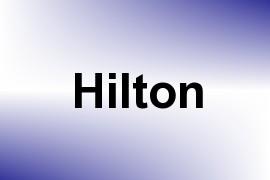 Hilton name image